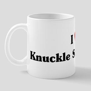 I love Knuckle Sandwiches Mug