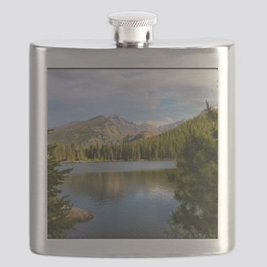 Bear Lake, Rocky Mountain National Park Flask