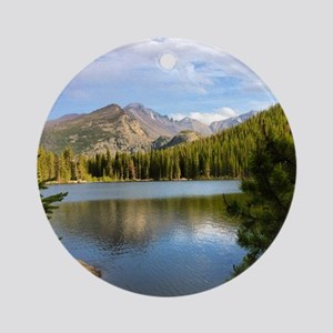 Bear Lake, Rocky Mountain National  Round Ornament