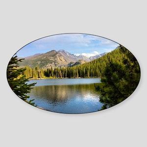 Bear Lake, Rocky Mountain National  Sticker (Oval)