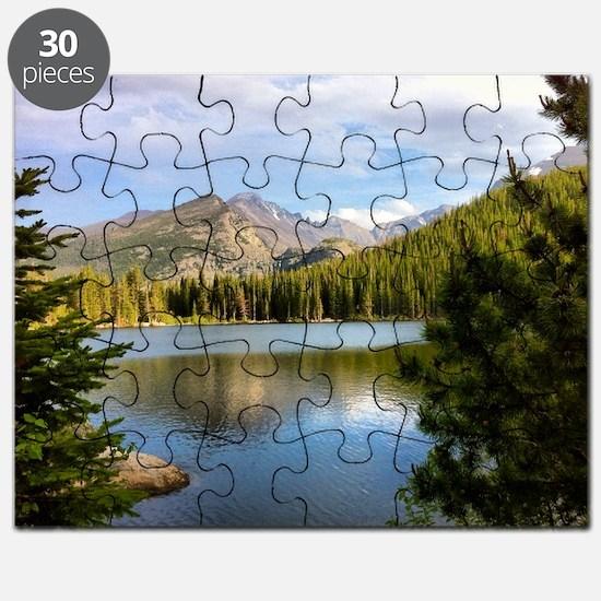 Bear Lake, Rocky Mountain National Park Puzzle