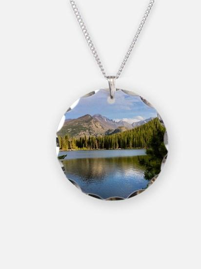 Bear Lake, Rocky Mountain Na Necklace