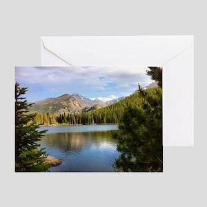 Bear Lake, Rocky Mountain National P Greeting Card