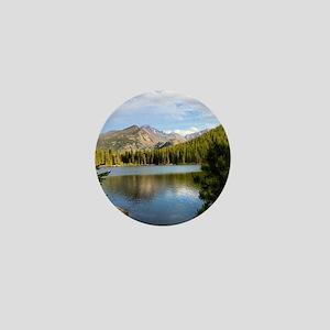 Bear Lake, Rocky Mountain National Par Mini Button