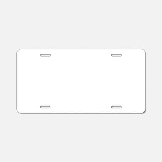 Tap-Dancing-ABM2 Aluminum License Plate