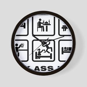 Massaging-AAZ1 Wall Clock