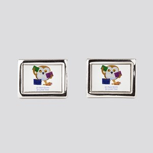 So Many Books So Little Time Cufflinks