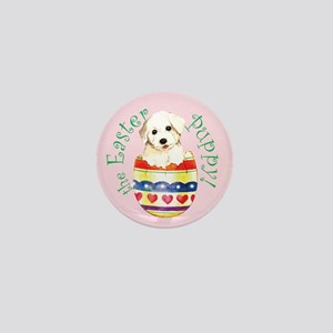 Easter Bichon Frise Mini Button