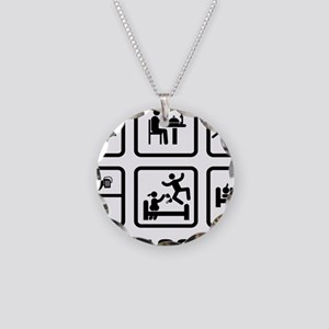 Logger-ABA1 Necklace Circle Charm