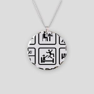 Mailman-AAZ1 Necklace Circle Charm