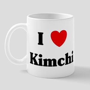 I love Kimchi Mug