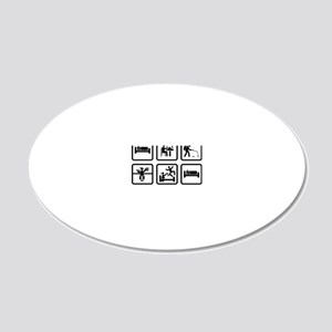 Pest-Controller-ABA1 20x12 Oval Wall Decal
