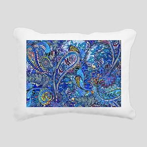 Extra Wild Paisley Rectangular Canvas Pillow