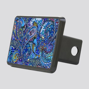 Extra Wild Paisley Rectangular Hitch Cover
