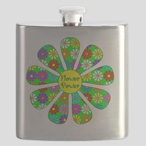 Cool Flower Power Flask