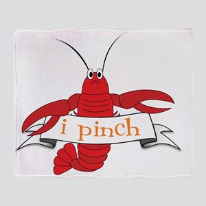 I Pinch Throw Blanket