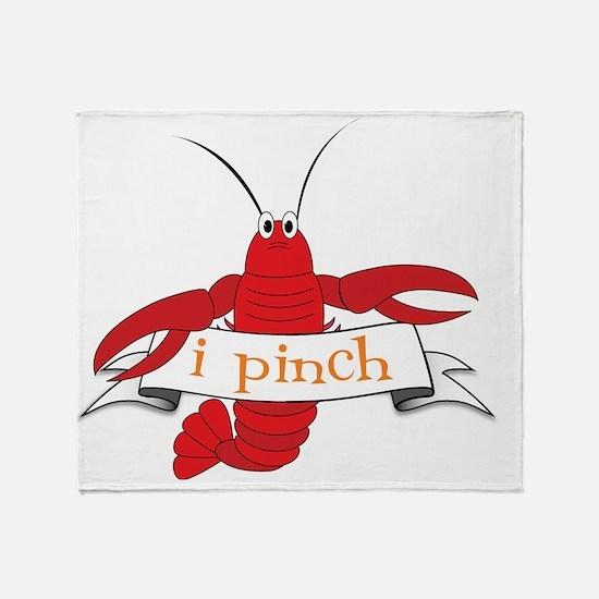 I Pinch Throw Blanket