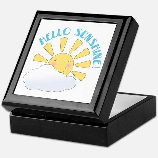 Hello Sunshine Keepsake Box