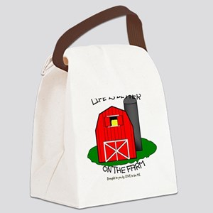 LIFE IS BETTER AT THE FARM Canvas Lunch Bag