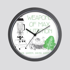 Weapons of Max Nutrition Wall Clock