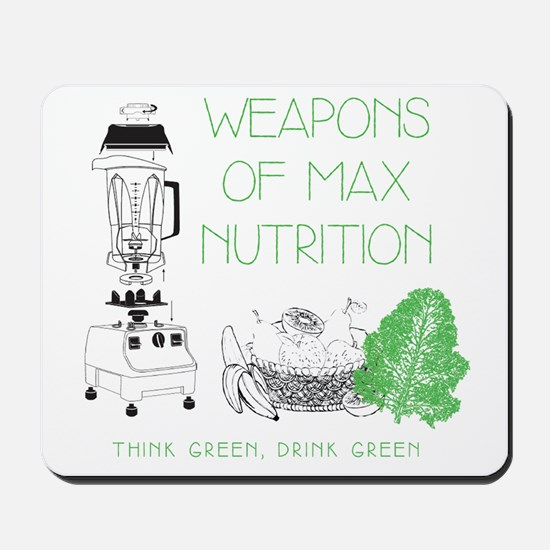 Weapons of Max Nutrition Mousepad