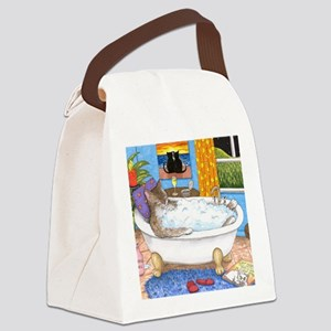 cat 567 Canvas Lunch Bag