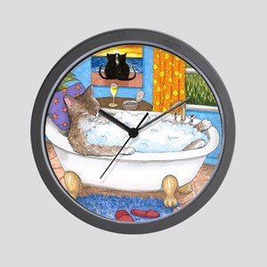 cat 567 Wall Clock
