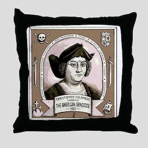 Christopher Columbus Throw Pillow