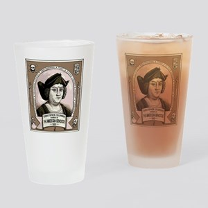 Christopher Columbus Drinking Glass