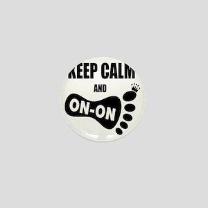 Keep Calm and Carry On CC Mini Button