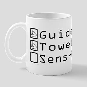 Checklist for Hitchhiking Mug