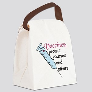 Protect Yourself Canvas Lunch Bag
