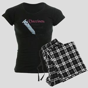 Protect Yourself Women's Dark Pajamas