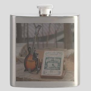 Cozart Mandolin at Crystal Bridges Trails Flask