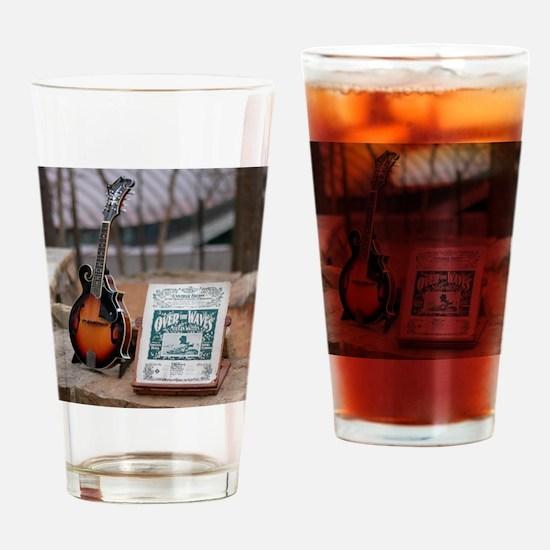 Cozart Mandolin at Crystal Bridges  Drinking Glass