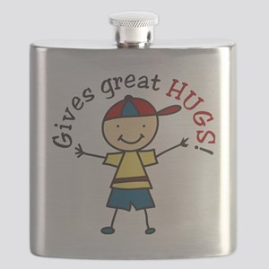 Gives Great Hugs Flask