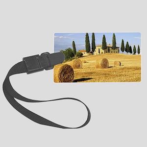 Italian countryside Large Luggage Tag
