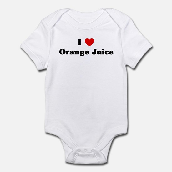 I love Orange Juice Infant Bodysuit