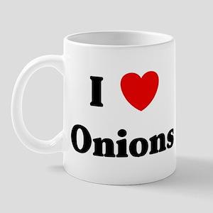 I love Onions Mug