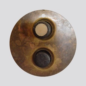 Victorian Push Button Light Switch Round Ornament