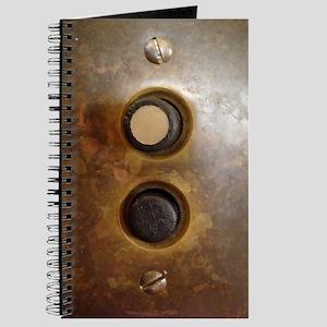 Victorian Push Button Light Switch Journal