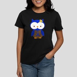 Blue Ribbon Owl Awareness T-Shirt