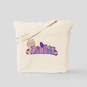 Cute Bunny - Easter Block's Tote Bag