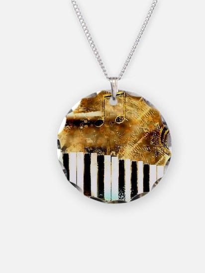 Musical Grunge Necklace