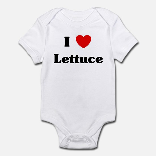 I love Lettuce Infant Bodysuit