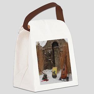 2Cal_Jan_Lute_Guitar_Old_World_Al Canvas Lunch Bag
