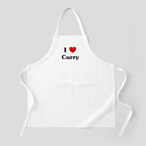 I love Curry BBQ Apron