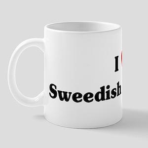I love Sweedish Meatballs Mug