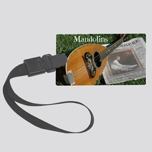 2Cal_Forever_Mandolins_Cover_Pag Large Luggage Tag