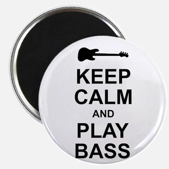 Keep Calm - Bass2 Magnet
